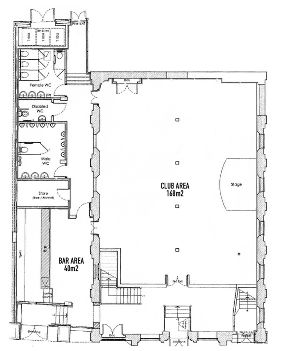 main room plan