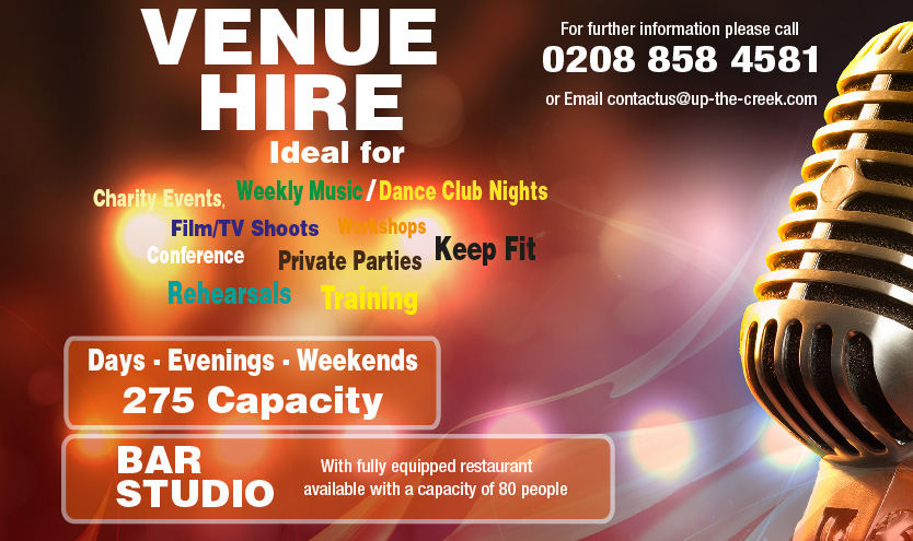 Comedy Club Venue Hire